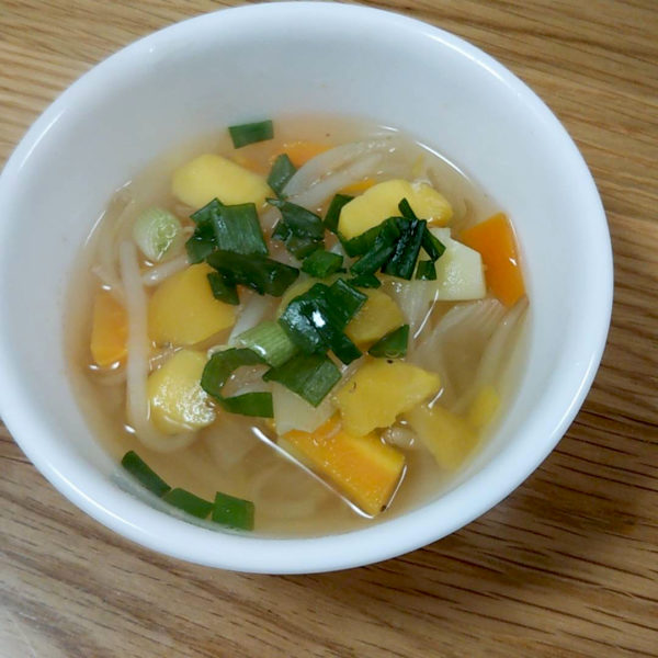 野菜ごろごろスープ